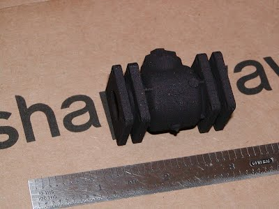 Shapeways model of check valve
