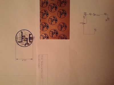 Simple electrical design using photo etching process